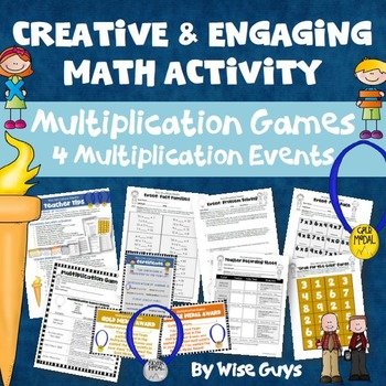 Multiplication Games Four Creative Events