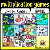 Multiplication Games: Knock Out Times Table BUNDLE