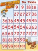Multiplication Games: Bump - Four in a Row - Roll & Cover