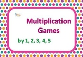 Multiplication Games, Multiplication by 1, 2, 3, 4, 5