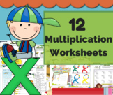 Multiplication Games / Multiplication word problems - My Math Center