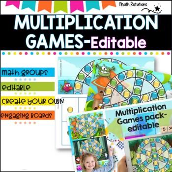 Multiplication Games Pack