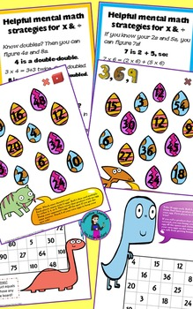 Multiplication Games Print and Go