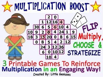 Multiplication Games Using Dominoes is Hands-On Fun!