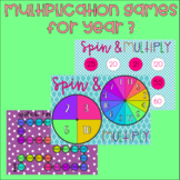 Multiplication Games - Year 3