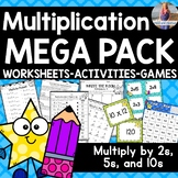 Multiplication Games/Activities/Worksheets (Multiply by 2,