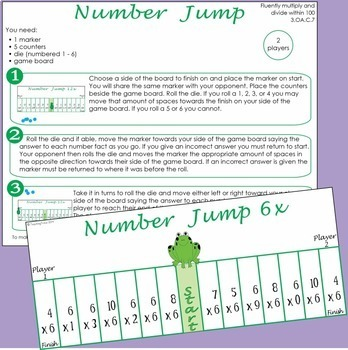 Multiplication Games for 2 players