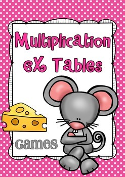 Multiplication Games for 6x