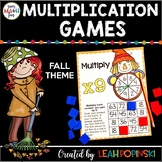 Fall Multiplication Facts: Fall Games for Multiplication Fact Fluency