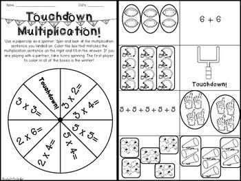 Football Multiplication Games