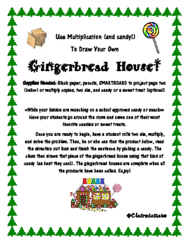 Multiplication Gingerbread House