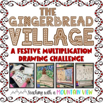 Multiplication Gingerbread Village