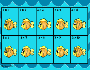 Multiplication Go Fish Games