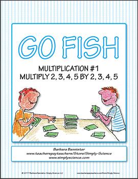 Multiplication Go Fish 1
