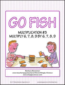 Multiplication Go Fish 3