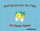 Multiplication Go Fish All Times Tables 1-12