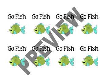 Multiplication Go Fish - BUNDLED - All Facts 1-12