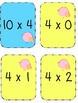 Multiplication Go Fish x4 Facts