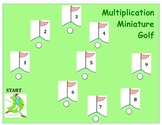 Multiplication Golf - A Game to Practice Multiplying by a 1-Digit Number