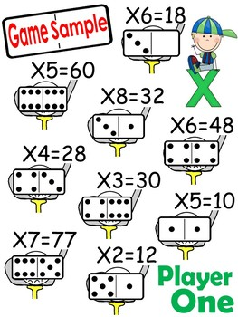 Multiplication Golf Games With Problem Solving