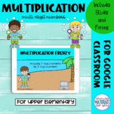 Multiplication Google™ Classroom | Beach