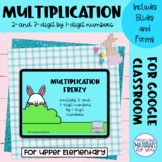 Multiplication Google™ Classroom | Easter