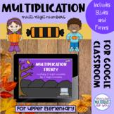 Multiplication Google™ Classroom | Halloween
