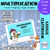 Multiplication Google™ Classroom | SNOWMAN