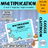 Multiplication Google™ Classroom | WINTER