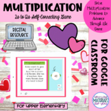 Multiplication Google™ Slides | Valentines Game