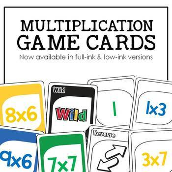 Multiplication Gotcha: A Fact Fluency Game for the Classroom