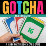 Multiplication Gotcha: A Math Fact Fluency Game for the Classroom