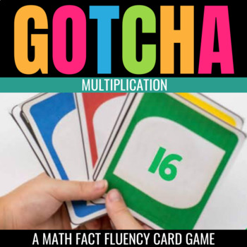 Multiplication Gotcha: A Fact Fluency Game