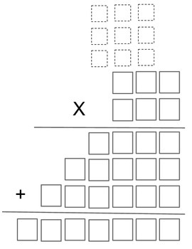 Multiplication Graphic Organizer 3 Digit x 3 Digit Numbers