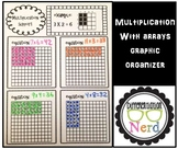 Multiplication Graphic Organizer: Using Arrays
