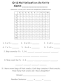 Multiplication Grid Activity