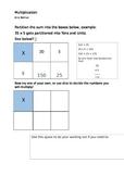 Multiplication Grid Method