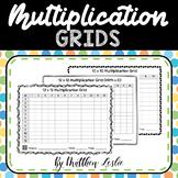 Multiplication Grids (Worksheets)