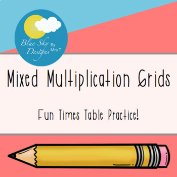 Multiplication Grids (Mixed)