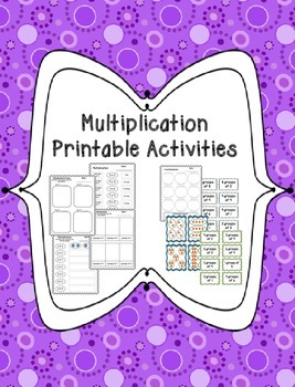 Multiplication Groups Printables