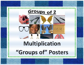 "Multiplication ""Groups of"" Posters"