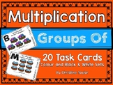 Multiplication: Groups of Task Cards