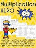 Multiplication HERO x 2 Activity Pack