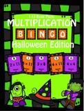 Multiplication Halloween Bingo