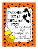 Multiplication Halloween themed Card Game: 3s and 4s