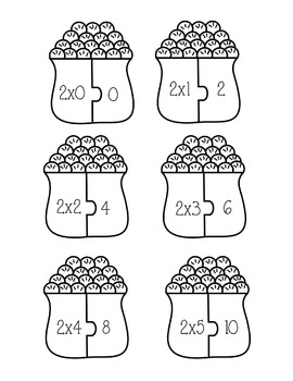 Multiplication Hands On Activity