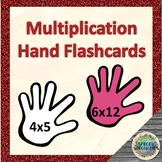 Multiplication Hands 'flashcards' for Kinesthetic Learners