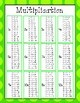 Multiplication Helper Charts