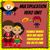 Superhero Multiplication Hero Unit