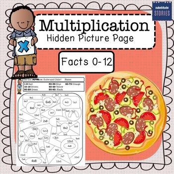 Mystery Multiplication - Coloring Squared   350x350